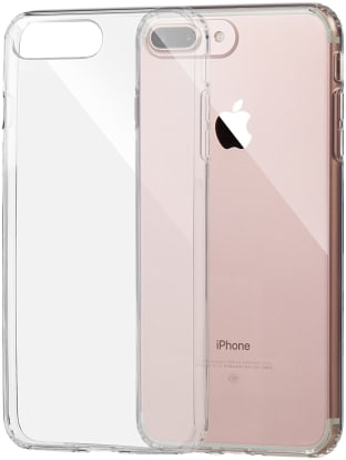 Product Image - AmazonBasics iPhone 8 Plus / 7 Plus Clear Case
