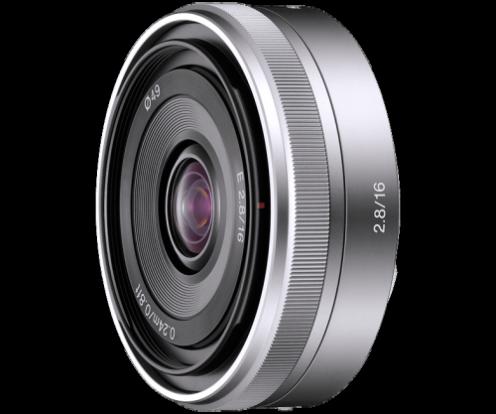 Product Image - Sony E 16mm f/2.8 E-mount Prime Lens