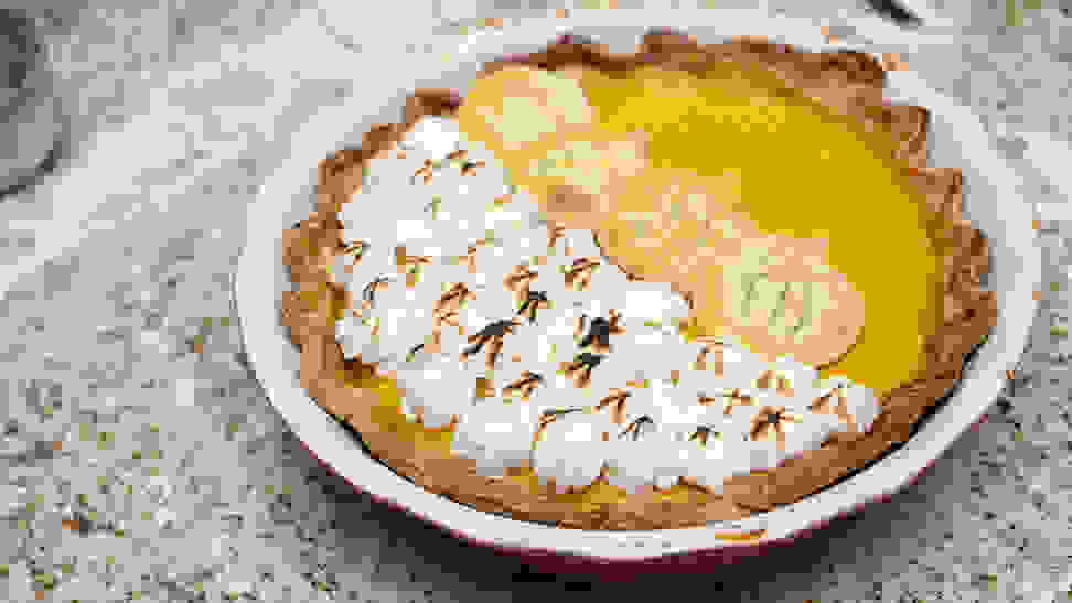 Here's the secret to making the perfect pumpkin pie at home