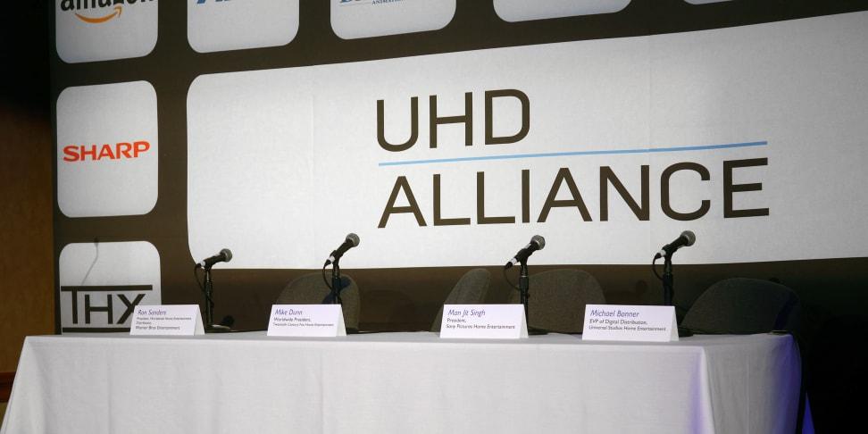 The UHD Alliance Ultra HD Premium logo