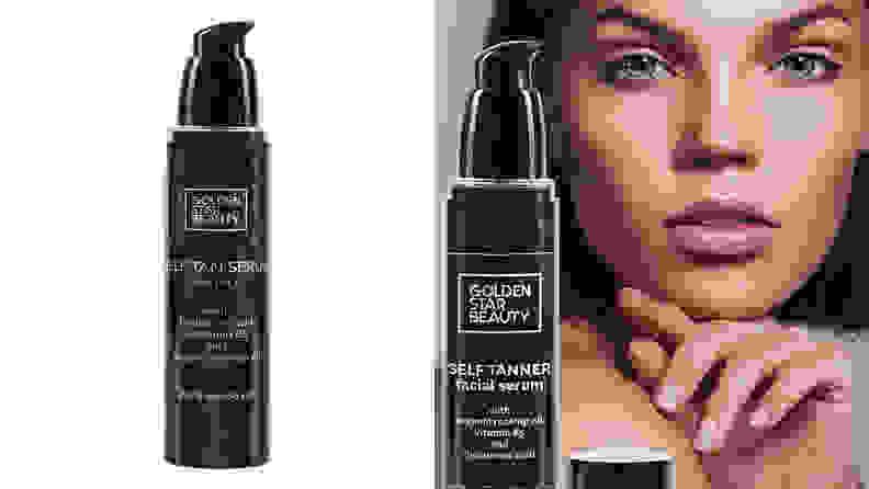 Golden Star Beauty Self Tanner for Face