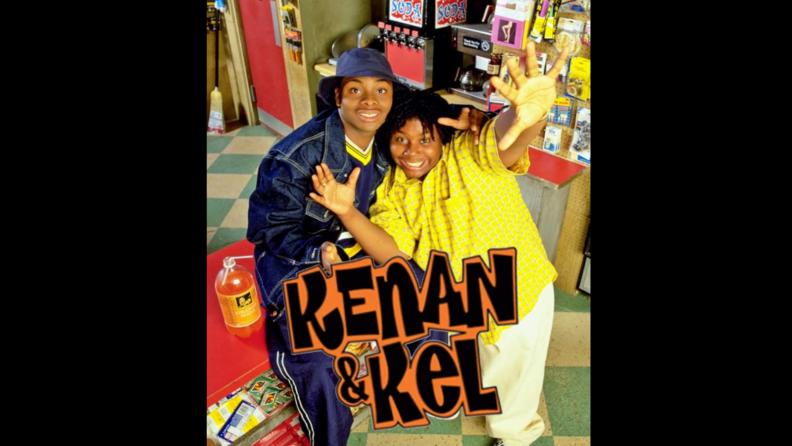 A title card from Kenan & Kel.