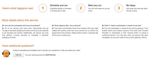 Amazon Local Services