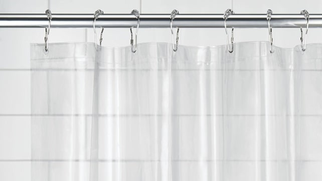 mDesign Waterproof Shower Curtain Liner