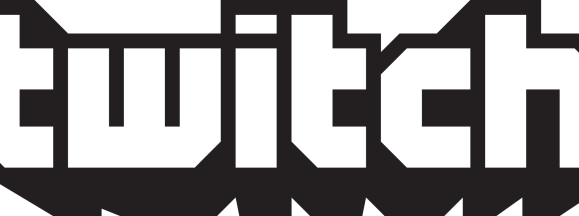 Twitch logo black