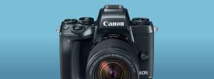 Canon m5 hero