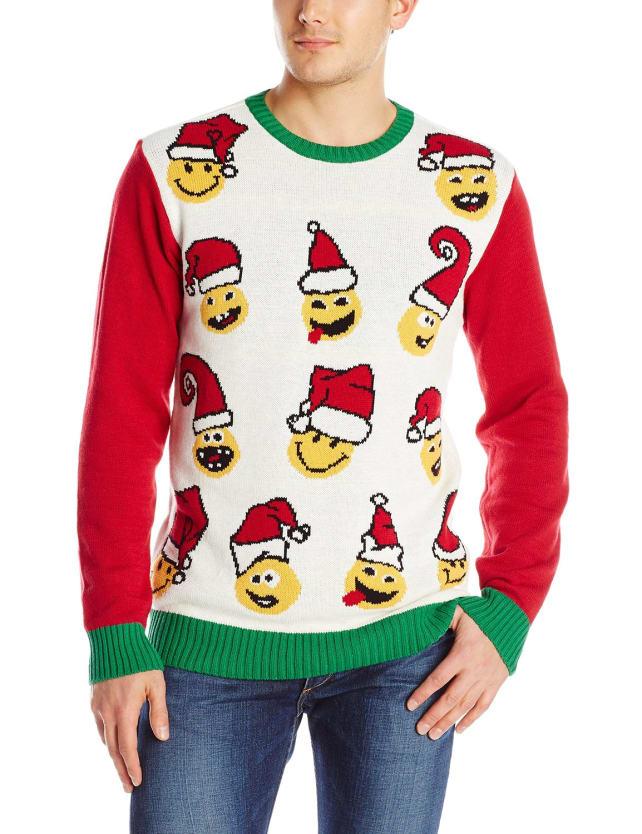 Emoji Christmas Sweater