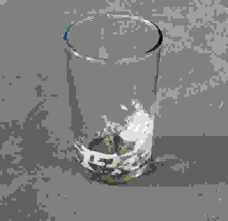 GE PDT760SSFSS—Milk Stains