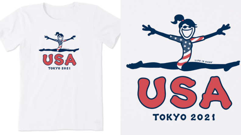 Life Is Good Olympics T-shirt