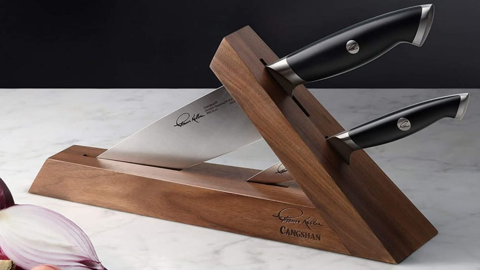 The Cangshan Thomas Keller Signature Collection knife set made it to Oprah's Favorite Things List.
