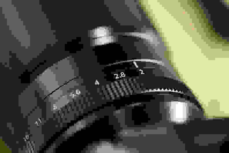 Fujinon 90mm f/2 top