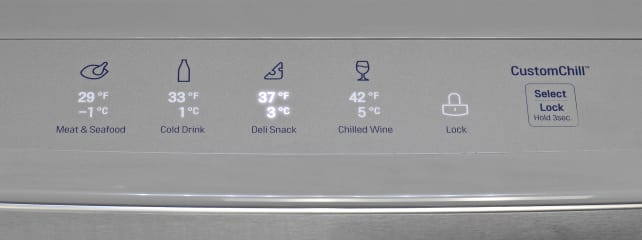 LG Temperature-Controlled Drawer