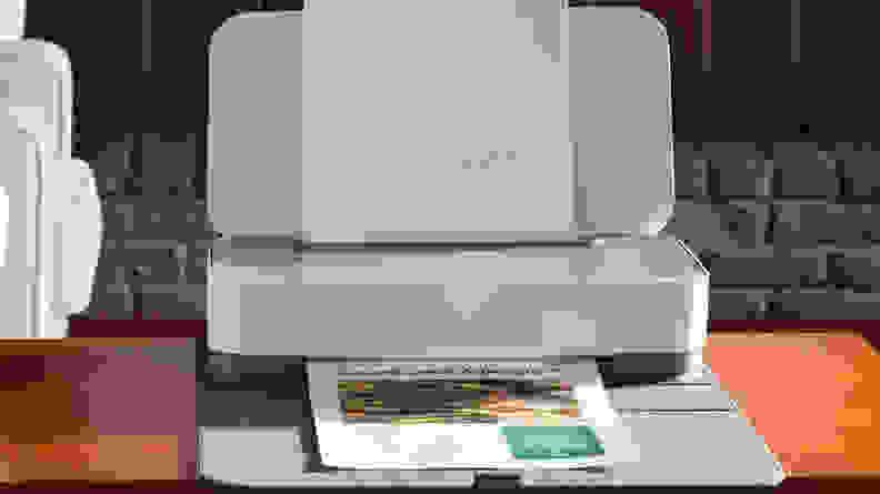 HP tango printer on desk