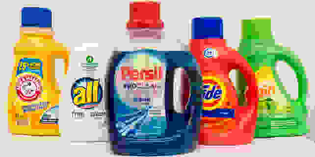 The right detergent