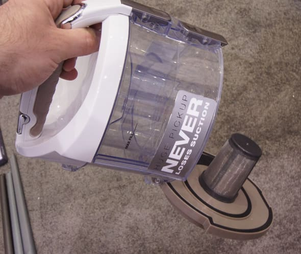 Shark Lift Around Portable Bagless Canister Vacuum First