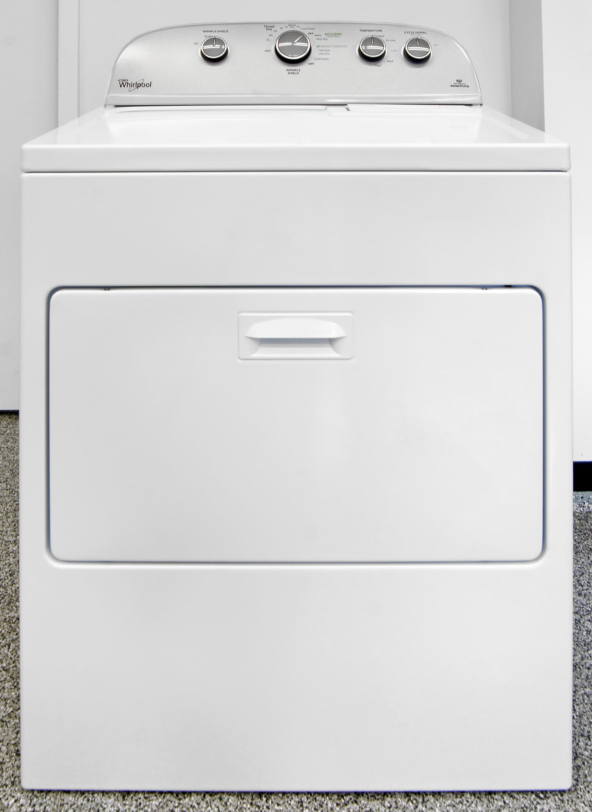 The Whirlpool WED5000DW is a basic-friendly hamper dryer for old-school  consumers.