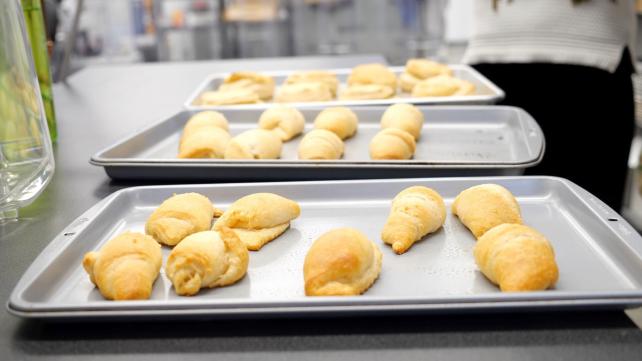 The best Pillsbury rolls baked
