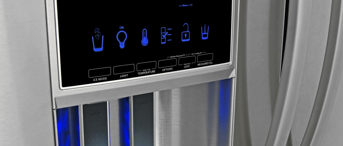 Best Counter Depth Refrigerator 2015 >> KitchenAid KFXS25RYMS Refrigerator Review - Reviewed.com ...