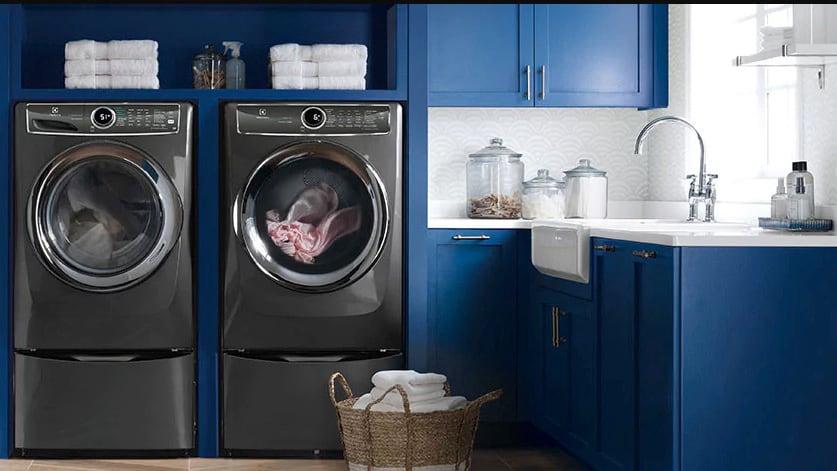 The dryer and its companion washing machine