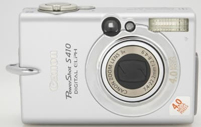 Product Image - Canon PowerShot S410