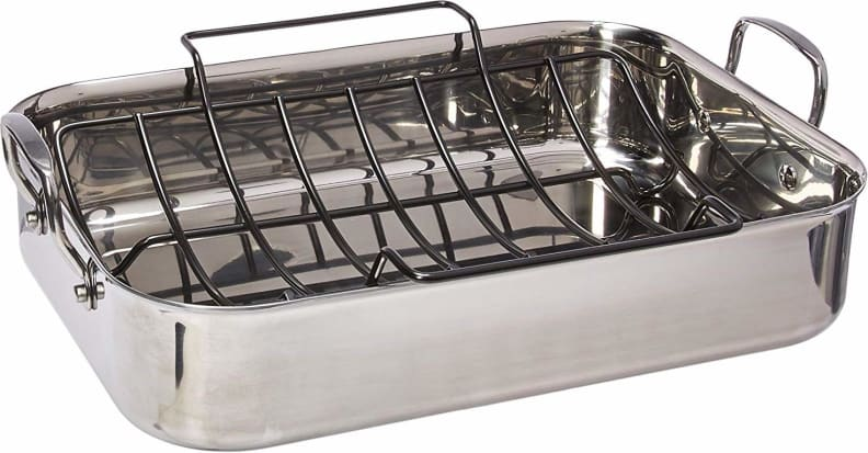 Small Round Roasting Rack Off 75, Small Round Roasting Pan With Lid
