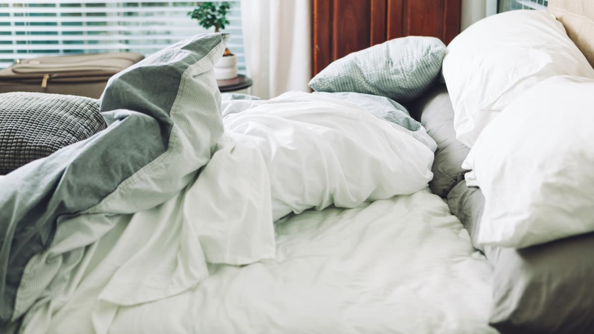 You're washing your bedding all wrong