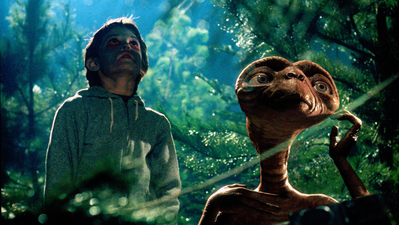 A young Henry Thomas stars as Elliot in Spielberg's 'E.T.'