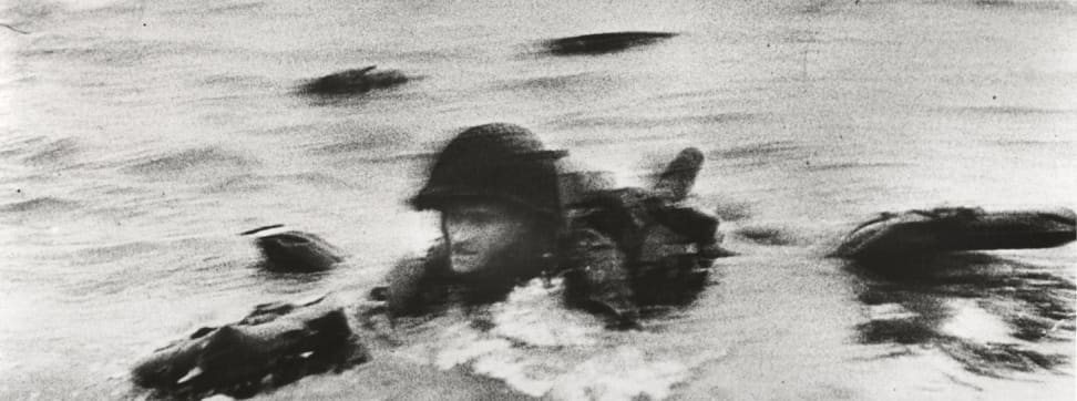 Robert Capa's portrait of a US soldier is one of the most iconic photos of World War II. (Credit: Robert Capa/International Center for Photography)
