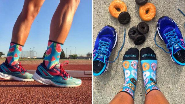 Best health and fitness gifts 2018 Zensah running socks