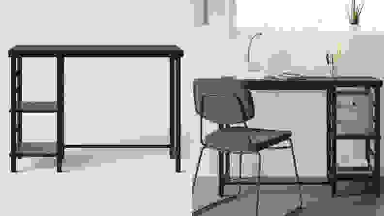 Adjustable Storage Desk