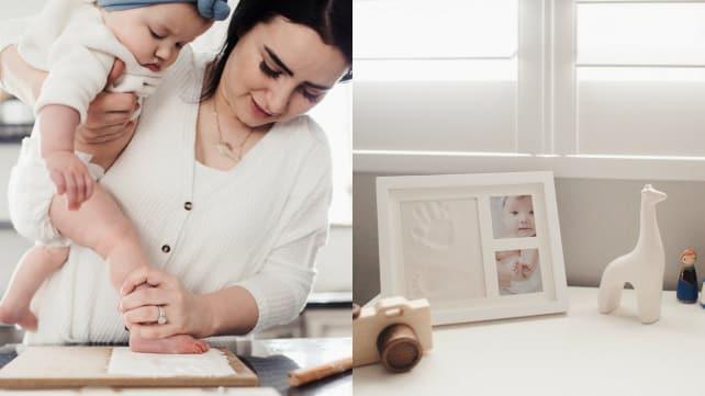Bubzi Co Baby Handprint Kit