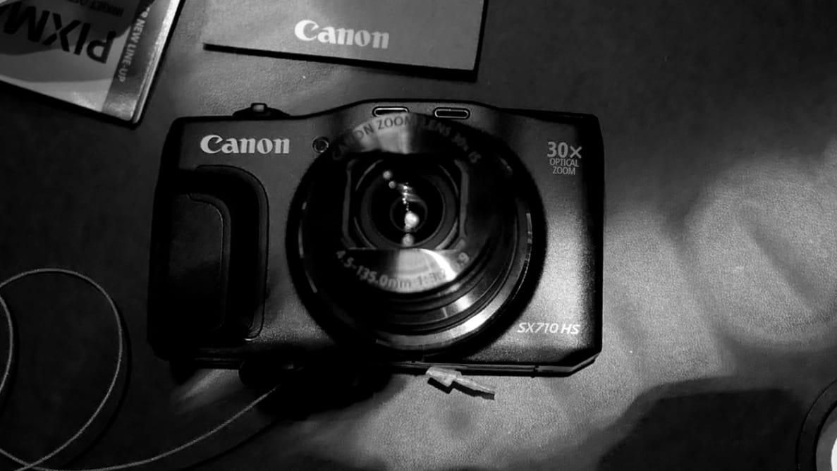 The Canon PowerShot SX710 HS
