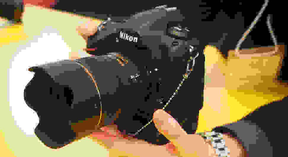 Nikon D5 Handling