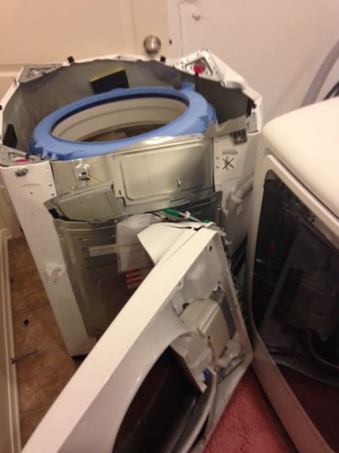 Washer Damage