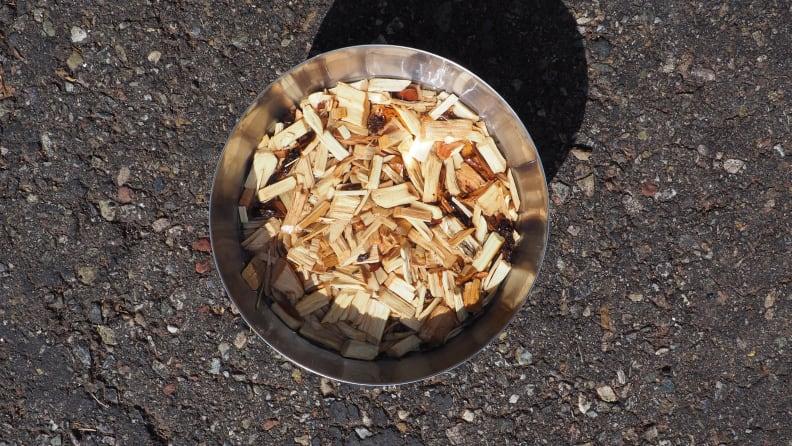 Smoking a Turkey: Wood Chips