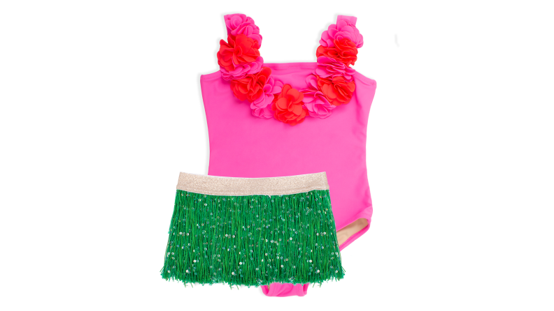 Hula girl swimsuit