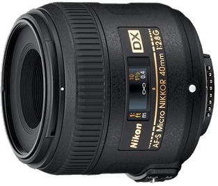 Product Image - Nikon AF-S DX Micro-Nikkor 40mm f/2.8G