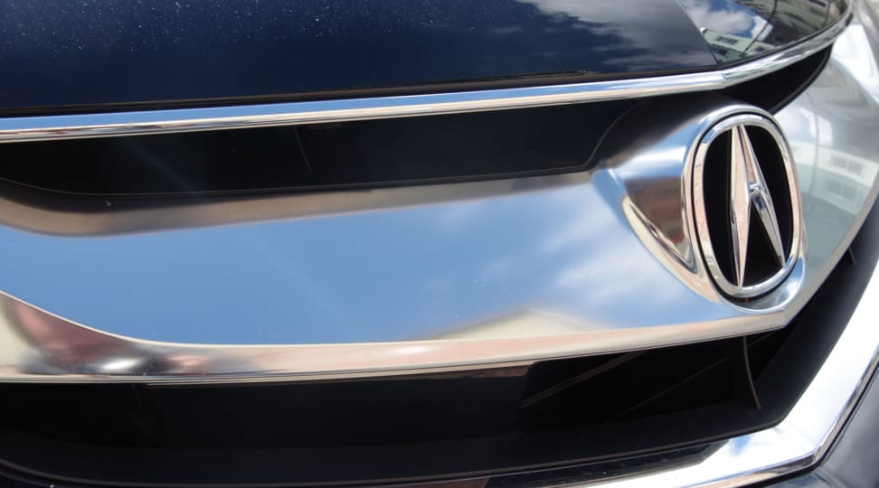 2016 Acura ILX Badge