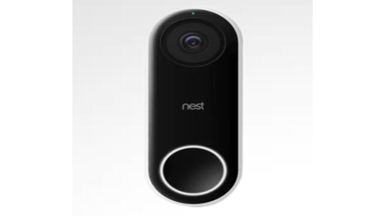 An image of a Nest doorbell.