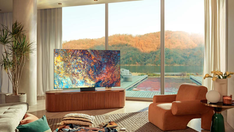 Neo QLED in living room