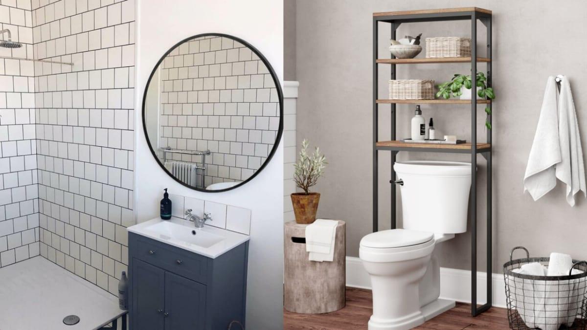 11 genius ways to make your tiny bathroom feel bigger