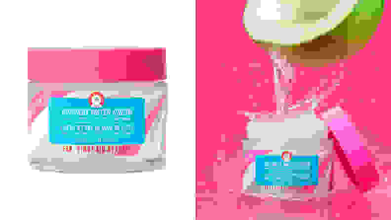 The First Aid Beauty Hello FAB Coconut Water Cream.
