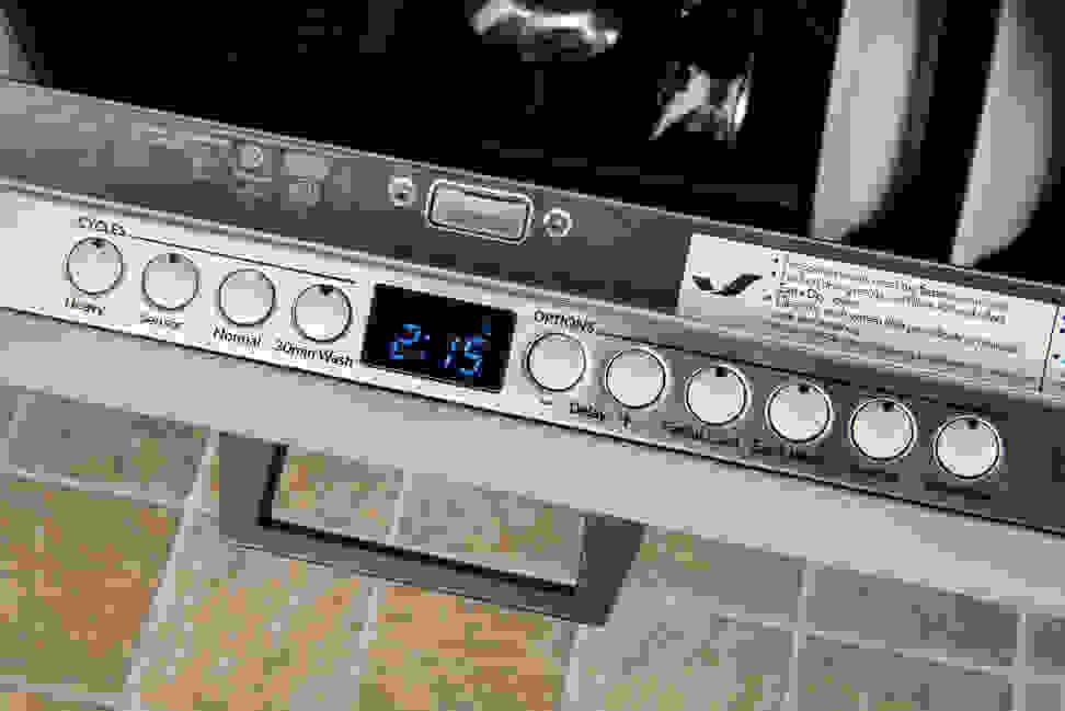 Jenn-Air JDB9600CWX—Timer Display