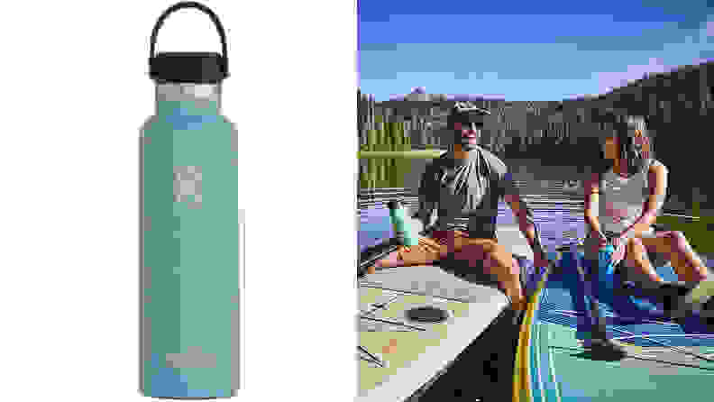 An image of a Hydro Flask water bottle.