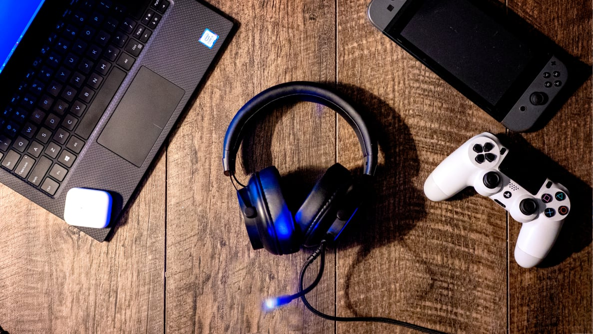 The Puro Sound Labs Purogamer headphones
