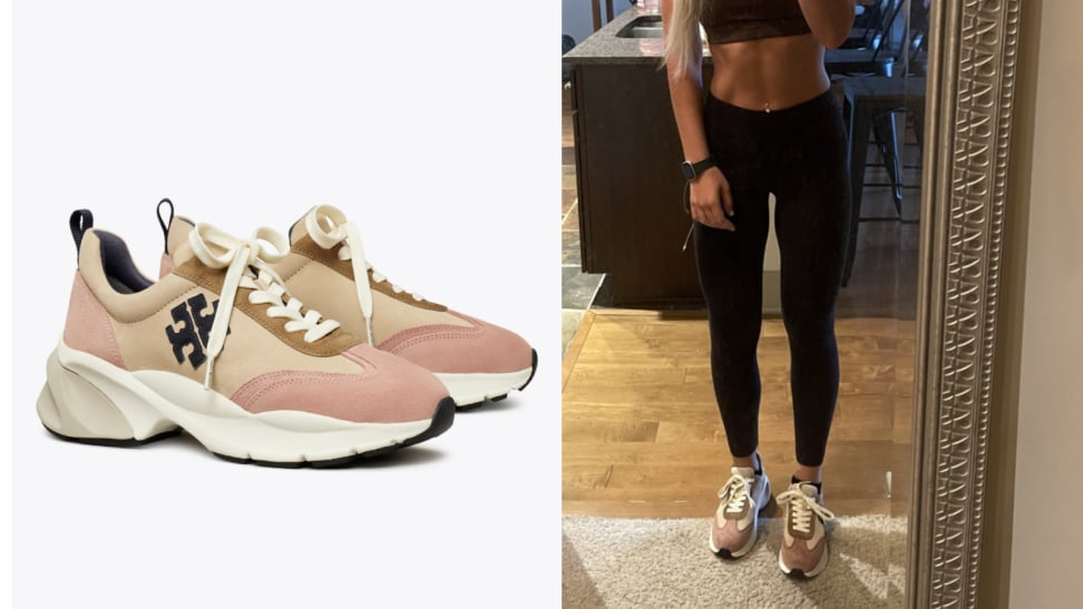 Tory Burch Good Luck trainer review