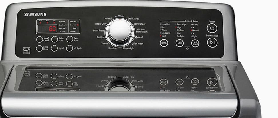 Some Samsung washers are exploding.