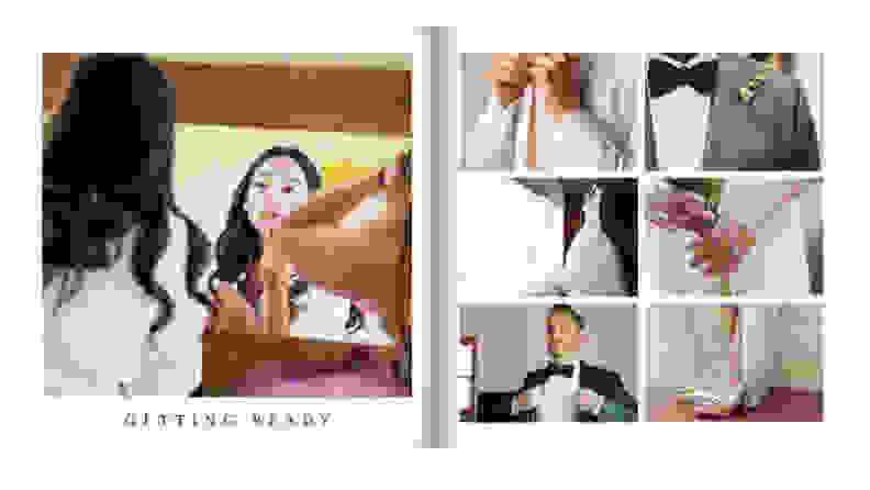 Mixbook wedding album