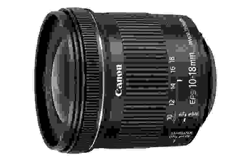 Canon's new 10-18mm EF-S lens would be great for those with a Canon Rebel who want a wide-angle zoom but are on a budget.