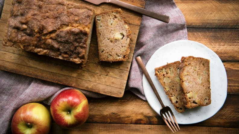 Cooking with Apples - Bread